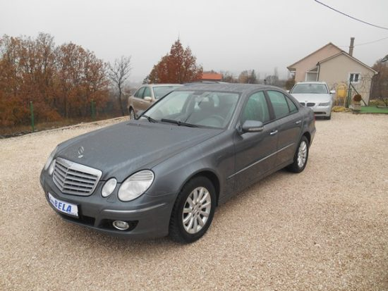 MERCEDES E 280 CDI–4 MATIC–