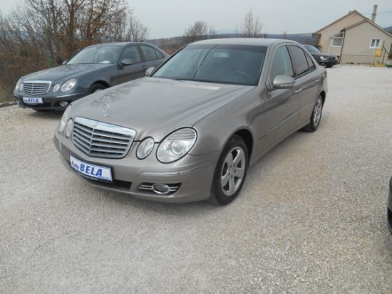 MERCEDES E 220 CDI-MODIFIKACIJA-